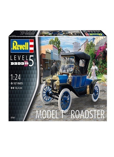 Revell  Maket 1913 Ford T Roadster 07661 Renkli